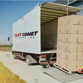 Local delivery service by Fast Comet