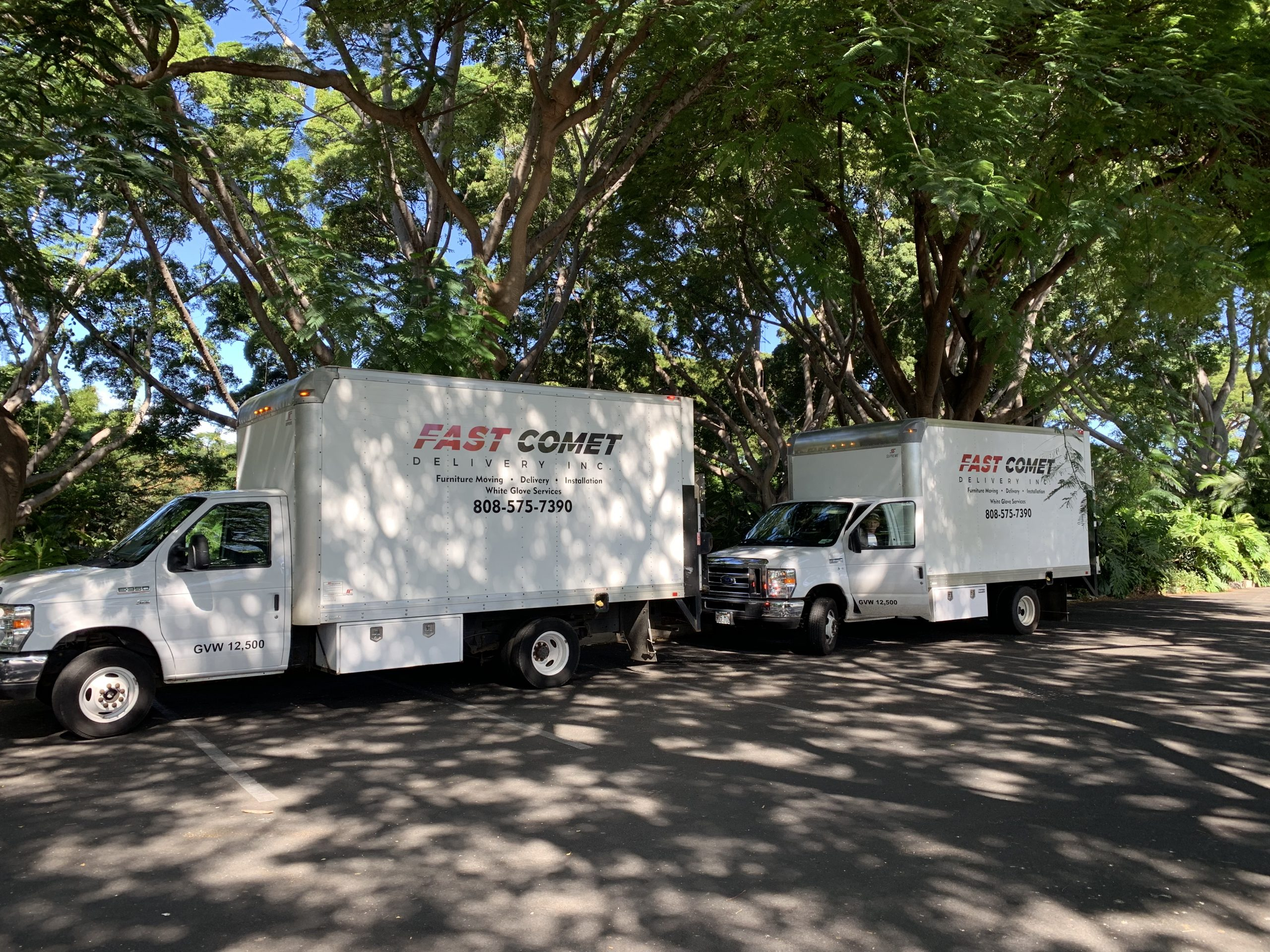 Fast Comet Delivery Truck 20 - Maui Hawaii