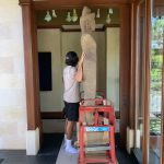 Fast Comet Delivery - Art Installation 1 - Moving Services - White Glove Service - Maui Hawaii