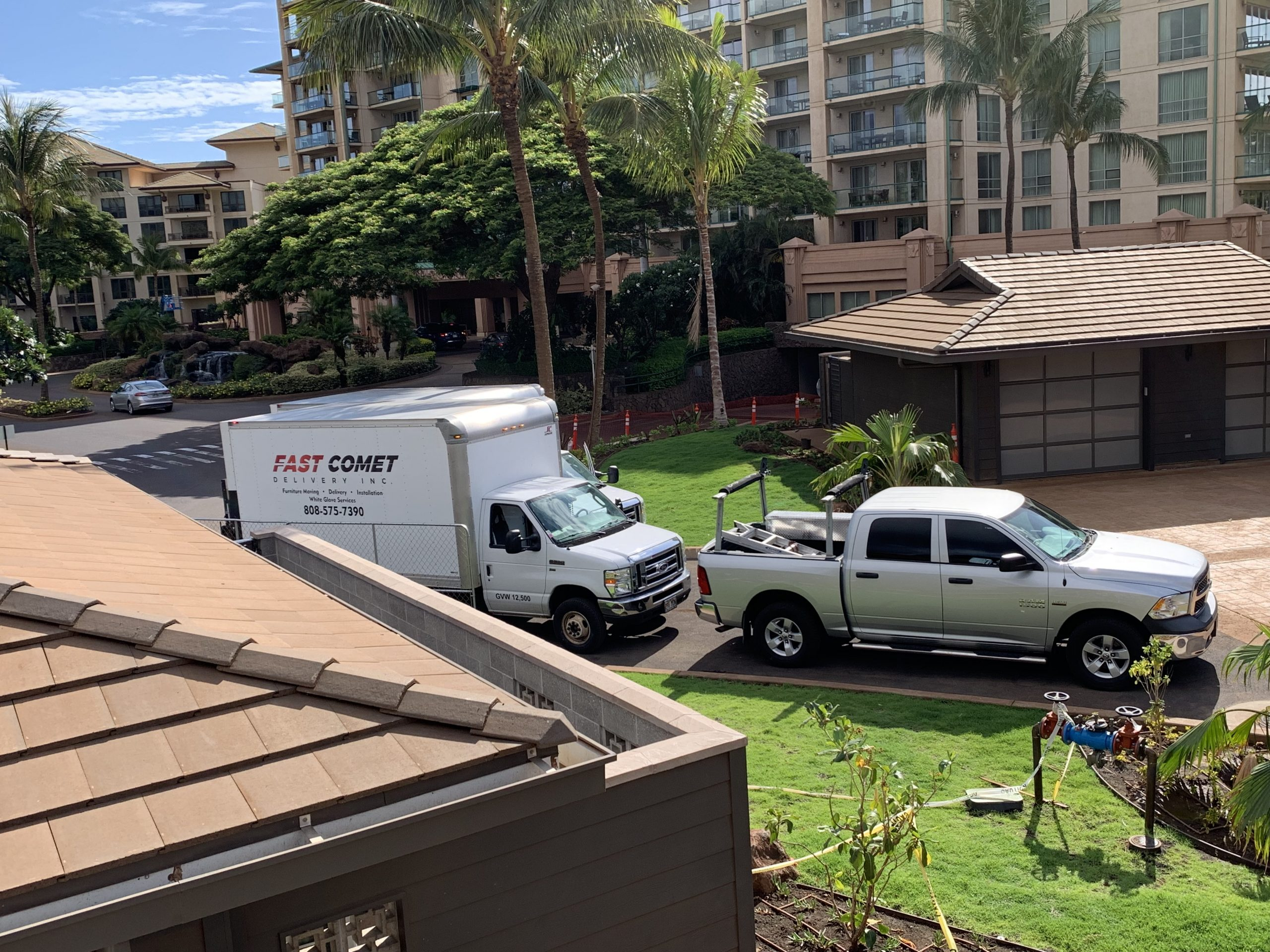 Fast Comet Delivery Truck 7 - Maui Hawaii