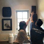 Fast Comet Art Installation 1 - Maui Hawaii - White Glove Service