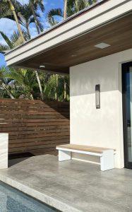 Makena House Installation - Outside Seating Area - Maui - Hawaii
