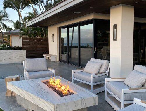 Makena House Installation Maui Hawaii