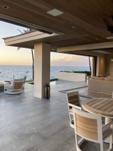 Makena House Installation - Lanai and View 1 - Maui - Hawaii