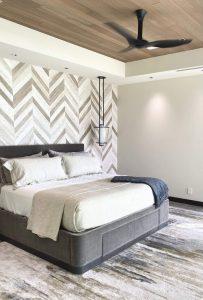 Makena House Installation - Bedroom 1 - Maui - Hawaii