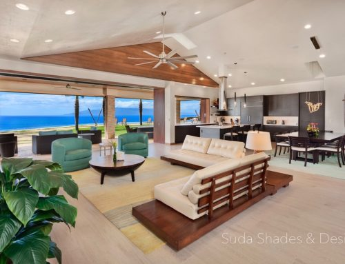 Highlighting Suda Shades, Maui, Hawaii